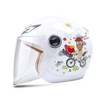 Cascos de motocross Casco infantil de cuatro estaciones casco de seguridad para niño y niña casco