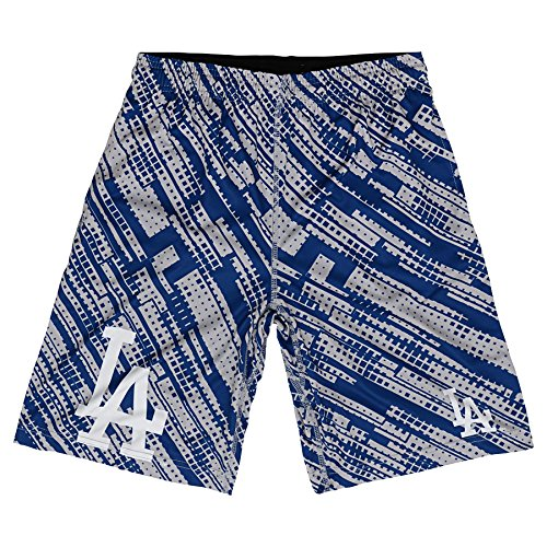 Short Los Angeles Dodgers (OuterStuff MLB Los Angeles Dodgers Youth Boys Printed Shorts, Royal, Large (14/16))