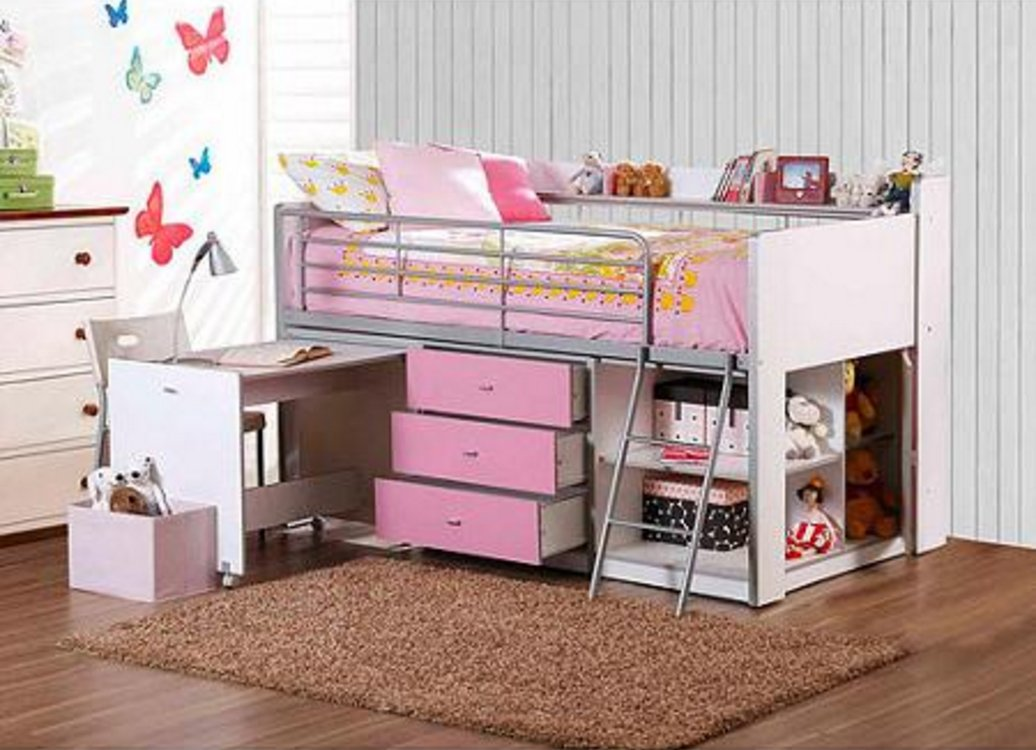 bed trundle bunk stairs double stunning storage and a with id cool beds desk modern