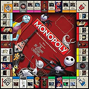 [Import Anglais]Monopoly Nightmare Before Christmas Board Game