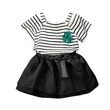 Amazon.com  Franterd Baby Girl Summer Dress Clothes Set 5da291e61