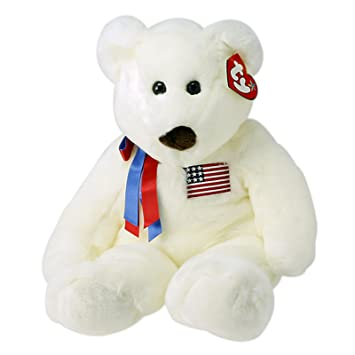 1f8011c0a52 Ty Large Libearty Beanie Baby Bear  Toy   Amazon.co.uk  Toys   Games