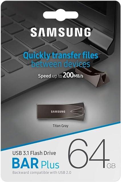 Samsung Muf 32be4 Eu Bar Plus 64 Gb Typ A Usb 3 1 Flash Computer Zubehör