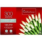 Celebrations Mini Light Set 300 Count Clear Bulbs 31' Ul Bulb Ace No. 9800269