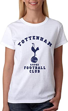 kharbashat Tottenham Hotspur F.C. T-Shirt For Women, Size XXL, White