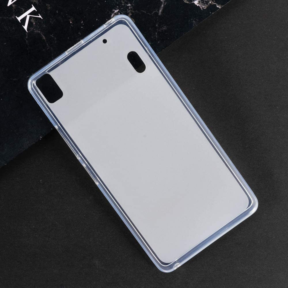 Lenovo K3 Note Case, Scratch Resistant Soft TPU Back Cover Shockproof Silicone Gel Rubber Bumper Anti-Fingerprints Full-Body Protective Case Cover for Lenovo A7000 Turbo (White)