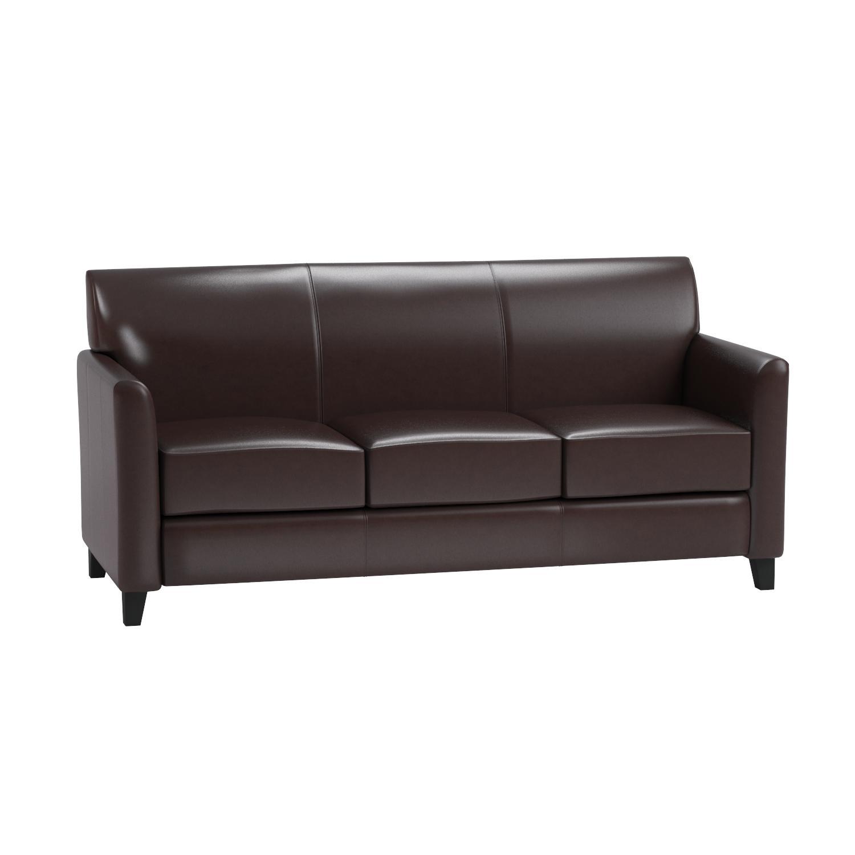 Amazon Flash Furniture HERCULES Diplomat Series Brown Leather