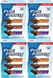 Pure Protein Bar Variety Pack (6 Chocolate Peanut Butter, 6 Chewy Chocolate Chip, 6 Chocolate Deluxe), 6 Pack (18 Count of 1.76 Oz bars)