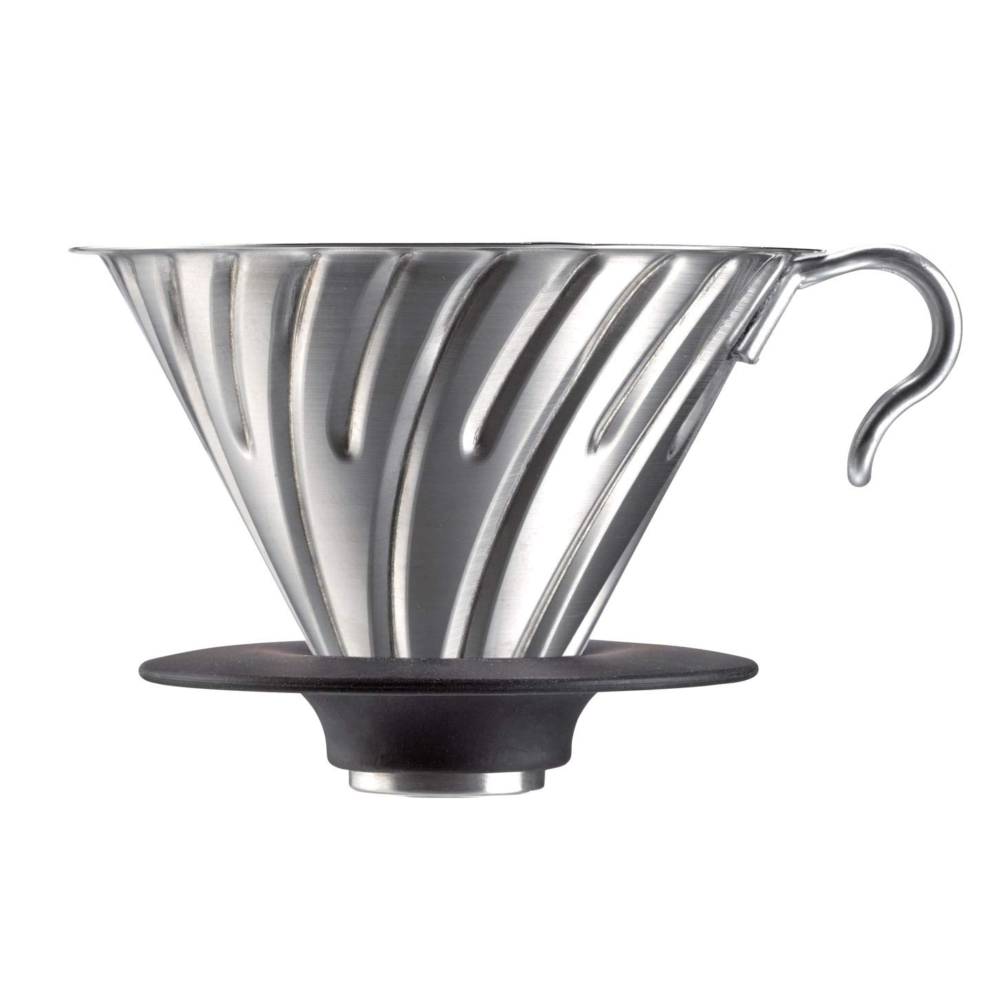 Hario 1-Piece Stainless Steel Metal Coffee Dripper, Copper VDM-02CP