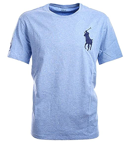 c74fdf5c Ralph Lauren Polo Mens Crew Neck Big Pony T-Shirt: Amazon.com.au ...