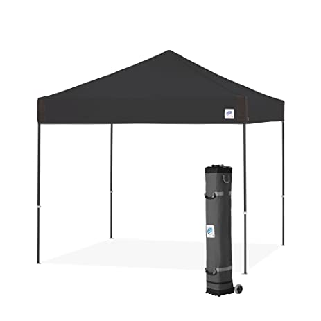 E Z UP Pyramid Instant Shelter Canopy 10 By Black