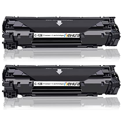 5 Toner Cartridges for Canon 128 imageCLASS MF4570dn D550 Page Yield 2100