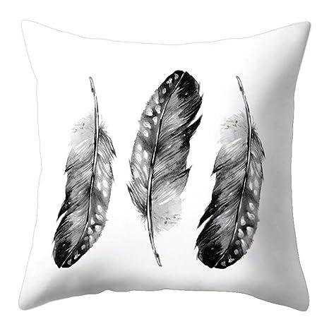 Funda de cojín Fragonaur con diseño de atrapasueños de plumas, funda de almohadón para decoración de sofá, 7#, Medium