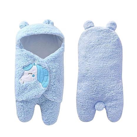AOLVO Saco Dormir Bebé Recien Nacido, Bebés Swaddle Wrap de 0-12 Meses
