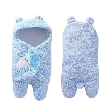 AOLVO Saco Dormir Bebé Recien Nacido, Bebés Swaddle Wrap de 0-12 Meses: Amazon.es: Hogar