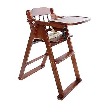 Amazon.com: Bebé Classic Comfort – Madera alta silla de ...