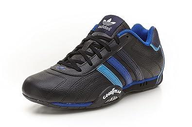 44922a3eea6013 adidas Originals goodyear adi Racer Low trainers black blue Q23613 ...