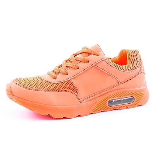 size 40 f9e9b 384e0 Trendige Unisex Damen Laufschuhe Schnür Sneaker Sport Fitness Turnschuhe