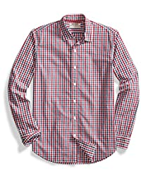 Goodthreads Men's Standard-Fit Long-Sleeve Two-Color Gingham Shirt