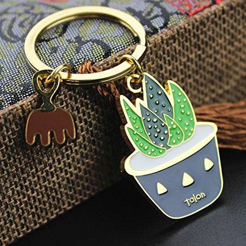 Arbre Cactus creativo llavero verde planta llavero bolsa ...