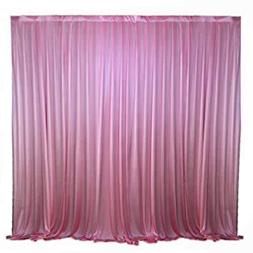 Lb Pink Wedding Stage Backdrop Curtains Swags Drape Party Wedding Backdrop Photography Background For Wedding Birthday Party Event