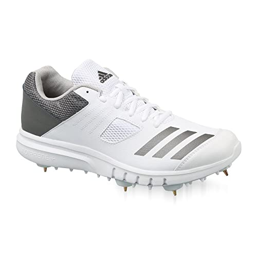 60427aa887fa00 Adidas Boy s Synthetic Howzat Cricket Spike Shoe (UK 5)  Buy Online at Low  Prices in India - Amazon.in