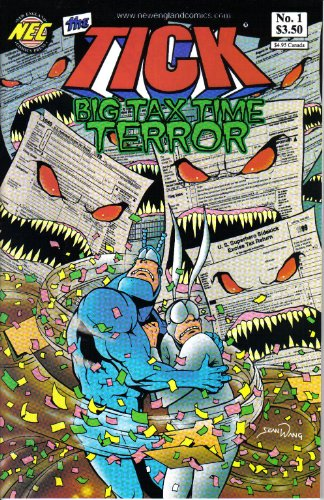 The Tick Big Tax Time Terror No. 1