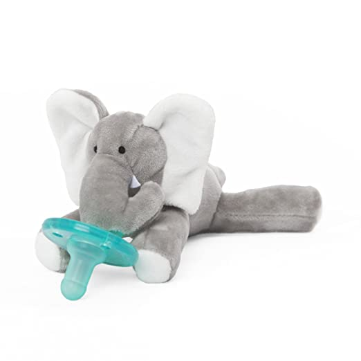 WubbaNub Infant Pacifier - Elephant