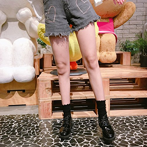 Generic Korean version of the new School of wind piles of socks women girls lady spring and autumn and minimalist small fresh Mori Japanese lace socks Girls Socks