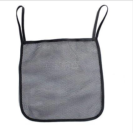 noir XSM Filet pour poussette pour b/éb/é avec poussette de landau et sac de rangement suspendu pour sac de rangement en filet avec porte-gobelet 30 x 30cm