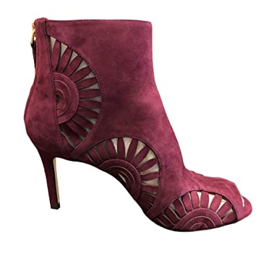 9b7b284e1 Image Unavailable. Image not available for. Color  Tory Burch 43067 Leyla  Bootie ...