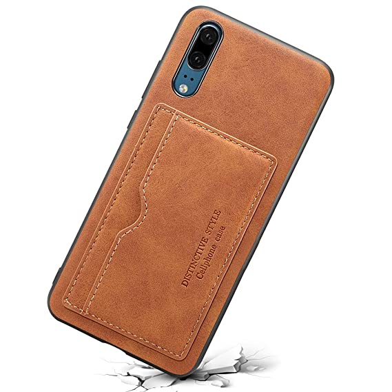 999e5bdc6e611 INFLATION Premium Huawei Hülle Lederhülle Magnet Flip Case Cover für Huawei  P20 Handyhülle Brieftasche Schutzehülle