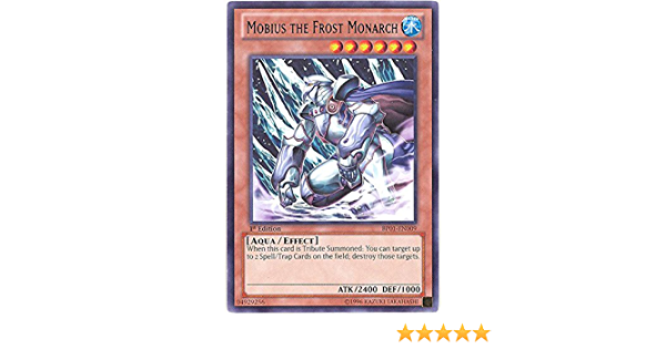 Yugioh Mobius the Frost Monarch SP15-EN004 1st Shatterfoil Near Mint Fast Shippi
