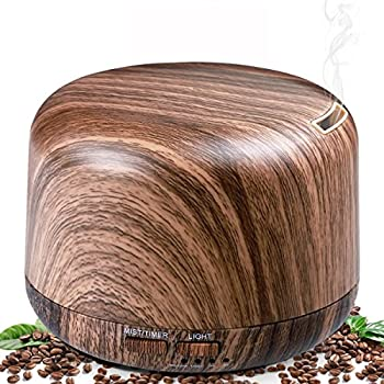 Aromatherapy 300ml Wood Grain Essential Oil Diffuser & Humidifiers