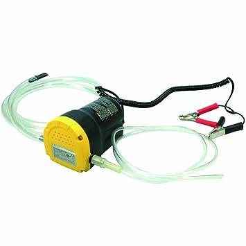 Cartrend 50210 Bomba de succión de aceite 12 V, Capacidad hasta 1,5 L