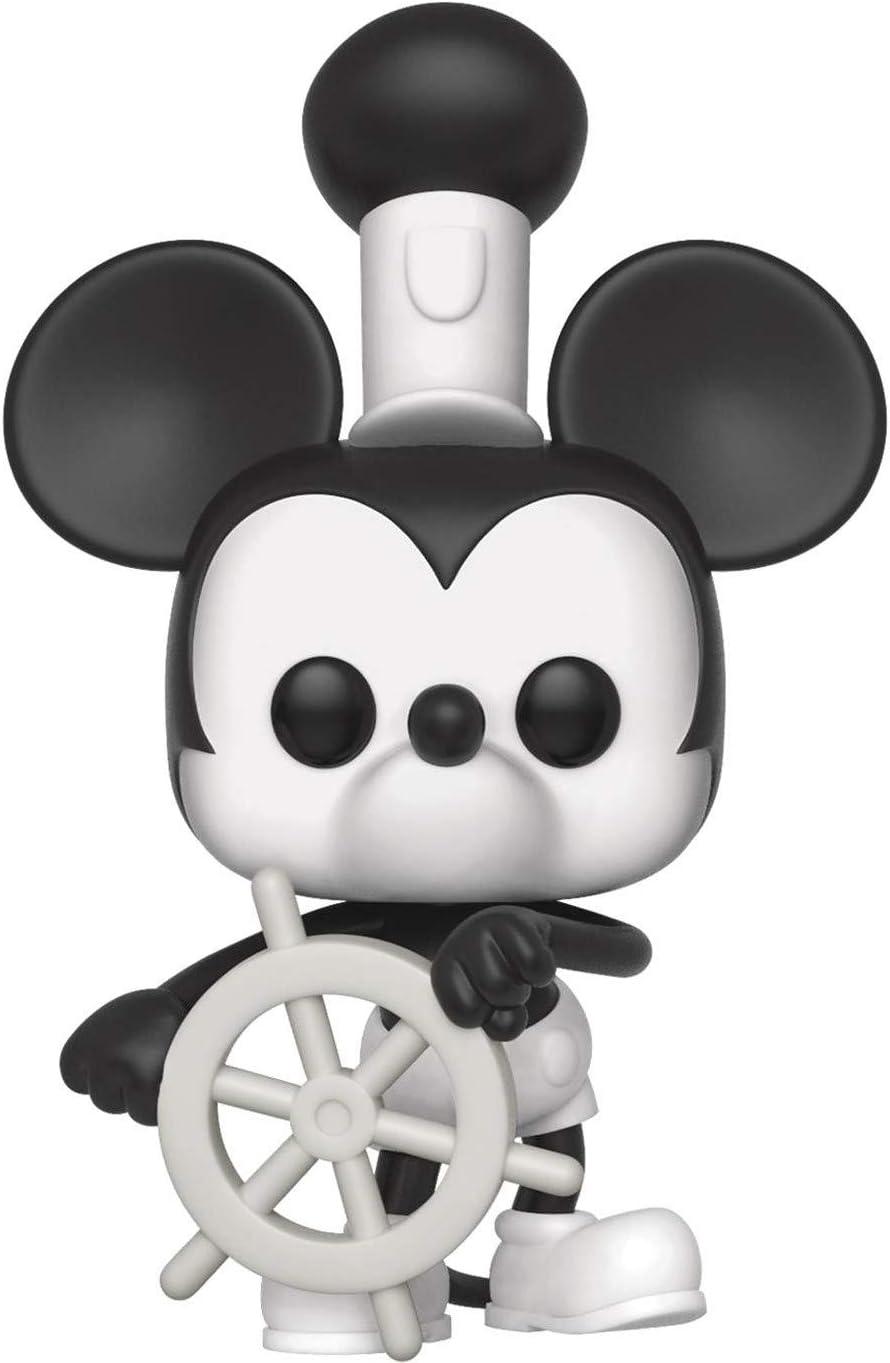 "Disney Steamboat Willie Poseable Vinyl 7/"" Figure 90 Years of Magic"