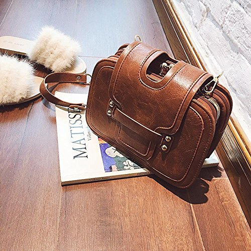 Aoligei Small Bag Of Multiple Layers Vintage 100-lap Side Chain Small Package Single Shoulder Oblique Fashion Bag And