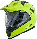 Acerbis - Casco Flip fs-606 amarillo neón, talla L (integral)