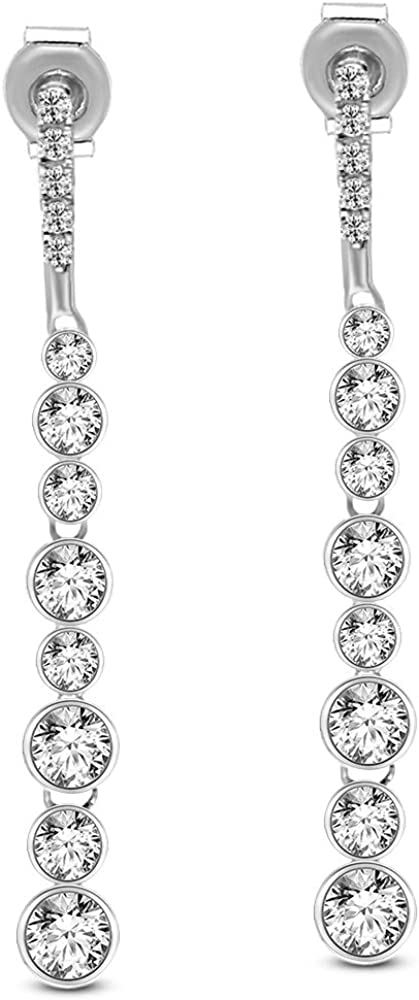 62f739137 100% Pure Diamond Earrings Luxury 5/8 ct IGI Certified Lab Grown Diamond  Dangler Earrings For Women Earrings SI1-SI2-GH Quality 14K Real Diamond  Earrings ...