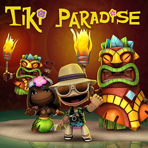 [Littlebigplanet 3: Tiki Paridise Gallery Level Pack - PS4 [Digital Code]] (Little Big Planet 2 Dlc Costumes)