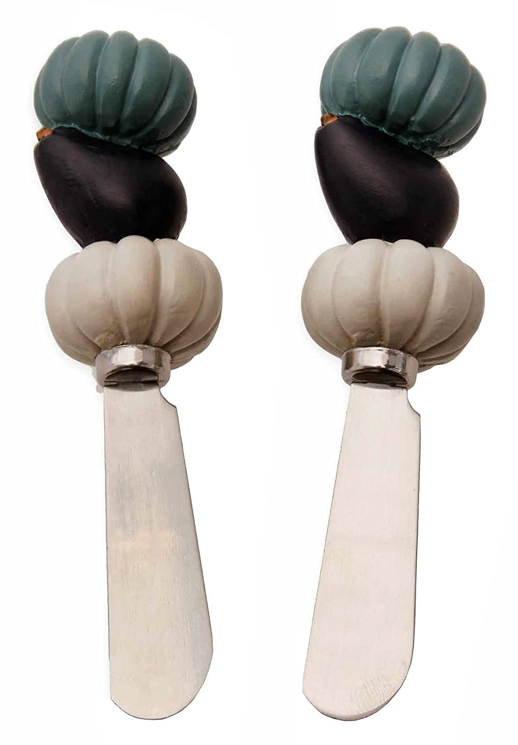Boston International Pumpkin Spreaders, Set of 2, Multicolored BIP14038