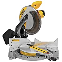 Deals on DEWALT 12-in 15-Amp Single Bevel Compound Miter Saw