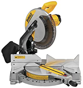 "DEWALT DWS715 15-Amp 12"" Single Bevel Compound Miter Saw"