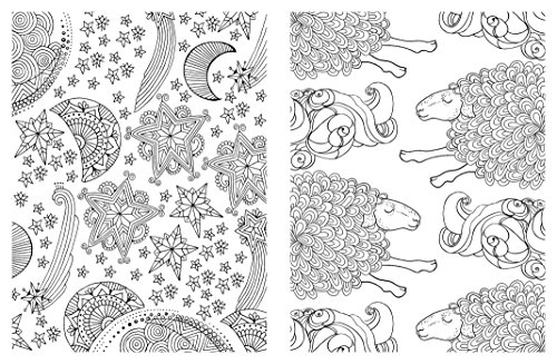 Posh Adult Coloring Book Soothing