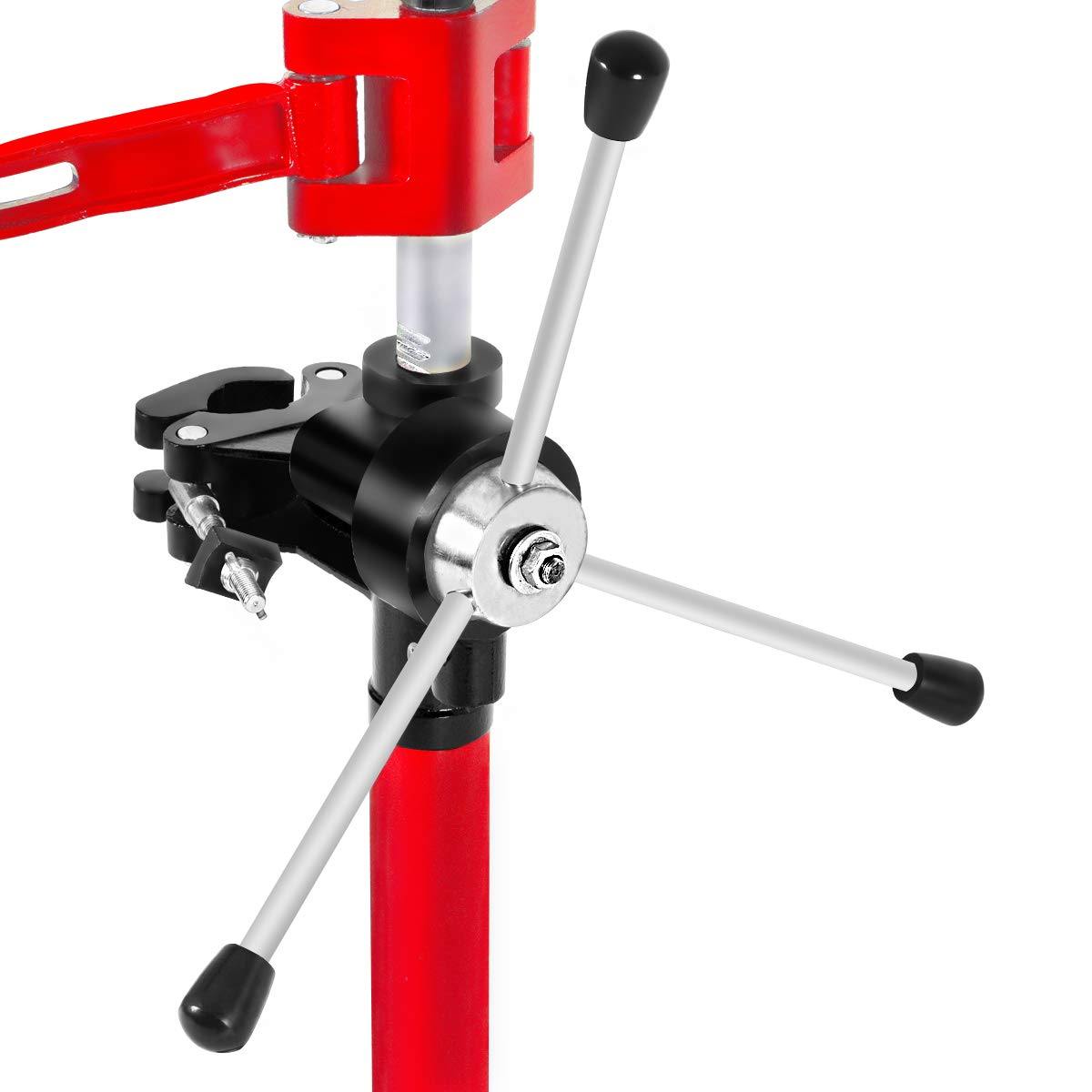 Goplus 20'' Strut Coil Spring Press Compressor Hand Operate Auto Equipment Compress, Red by Goplus (Image #3)