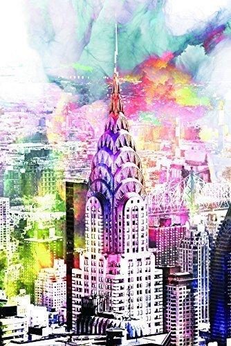 New York Tempered Glass Wall Art, New York City Wall Art