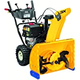 Gas Snow Blower 26 in. Features 3-Stage Electric Start with Steel Chute, Power Steering and Heated Grips, Yellow