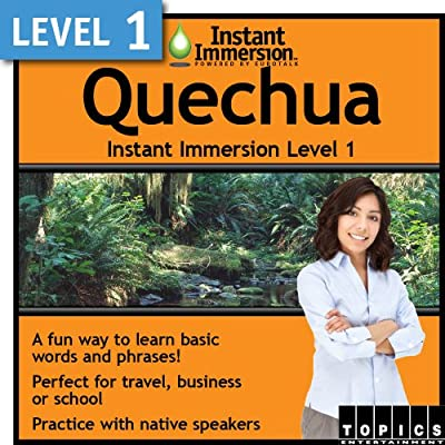 Instant Immersion Level 1 - Quechua