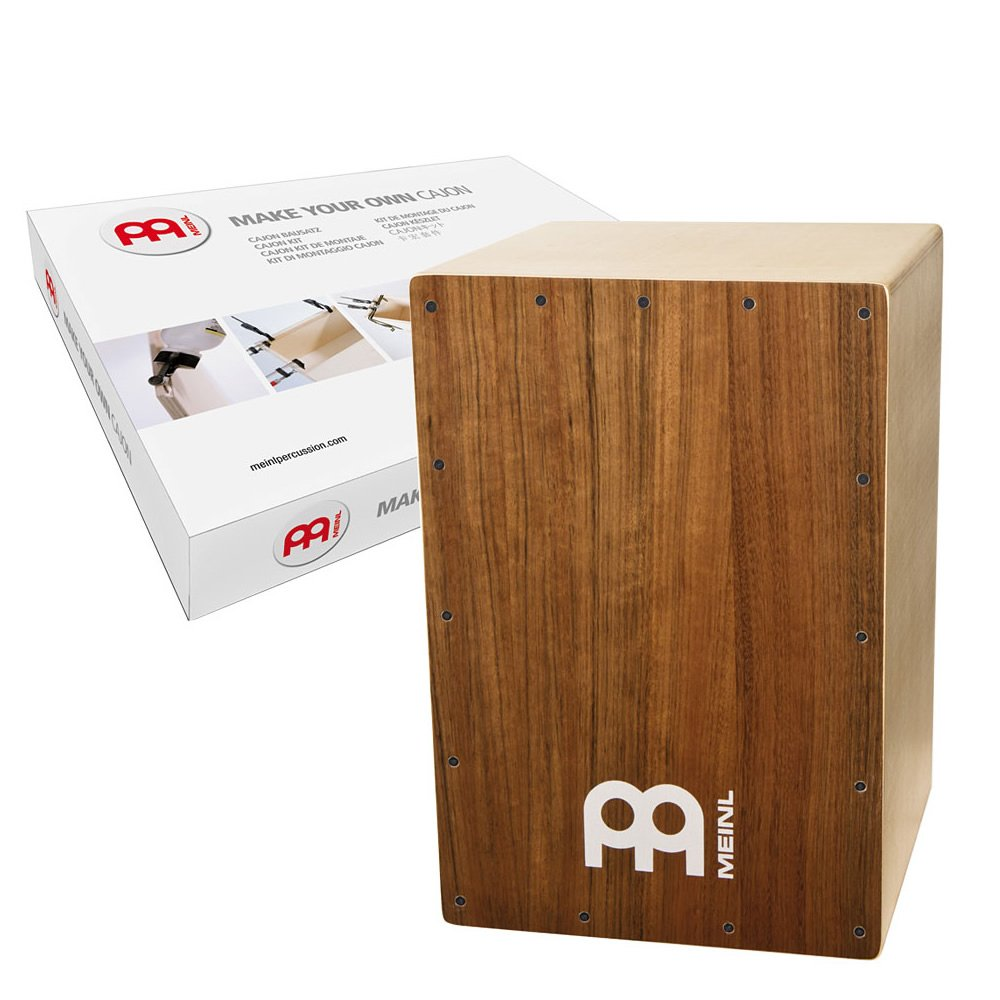Meinl Percussion MYO-CAJ-OV Make Your Own Cajon, Ovangkol Frontplate