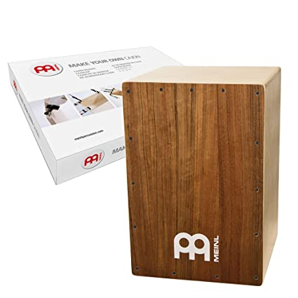 amazon com: meinl make your own cajon kit with snares - made in europe -  ovangkol frontplate / baltic birch body, includes easy to follow manual